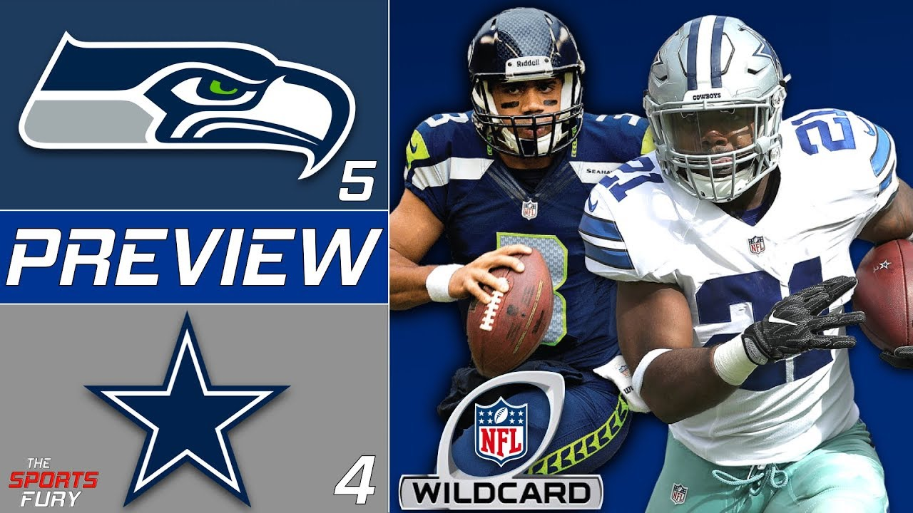 [NFL] Wild Card: Preview Dallas Cowboys vs Seattle Seahawks