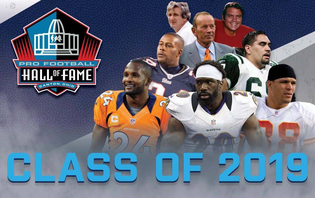 La classe 2019 della Hall of Fame