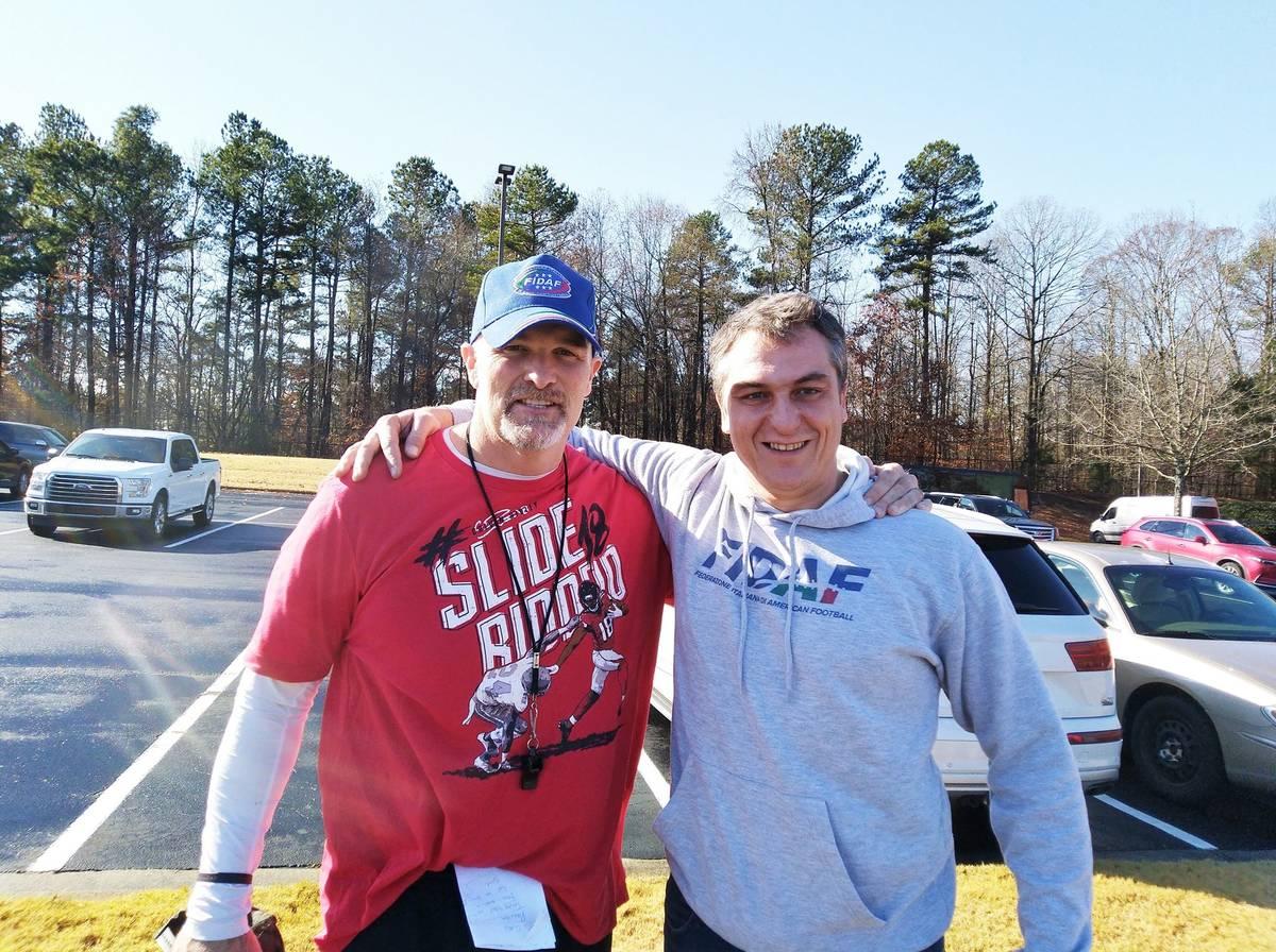Un weekend con gli Atlanta Falcons