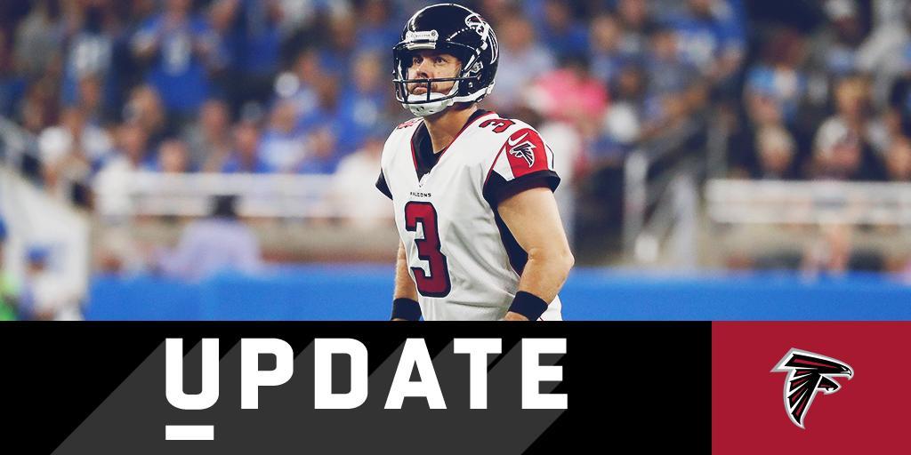 Matt Bryant tagliato dagli Atlanta Falcons