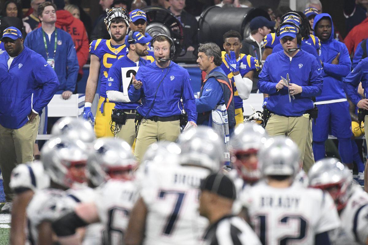 [NFL] Super Bowl LIII: Dalla panchina dei Los Angeles Rams