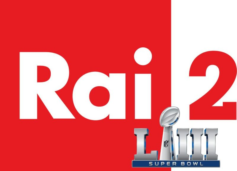 super bowl in tv rai 2