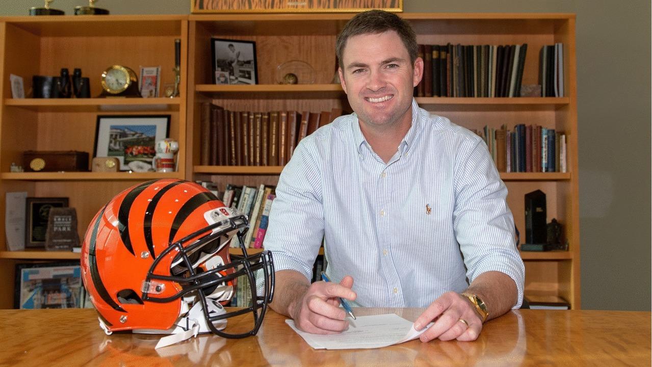 Zac Taylor è il nuovo Head Coach dei Cincinnati Bengals