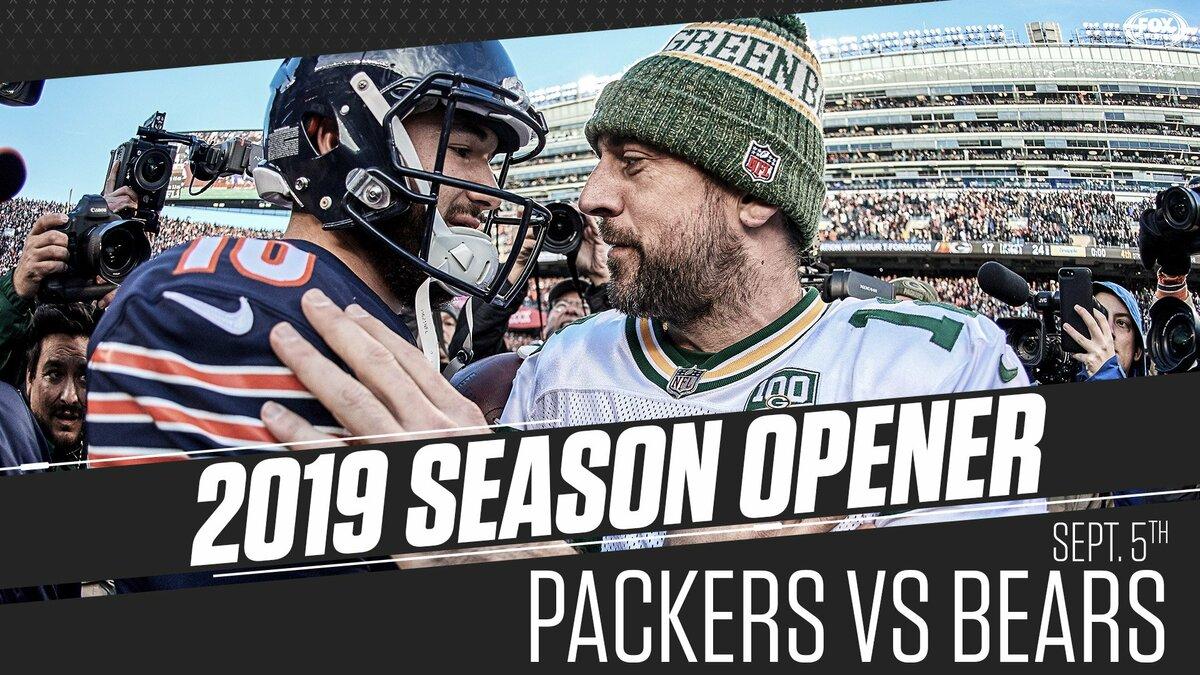 Bears vs Packers apre la stagione 100 della NFL