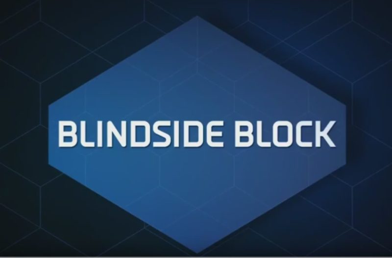 blindside block