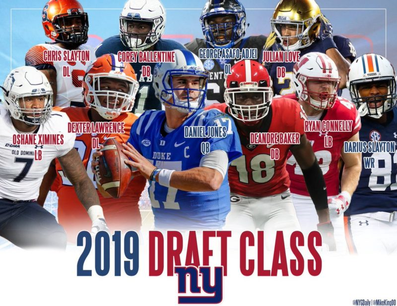 draft 2019 giants