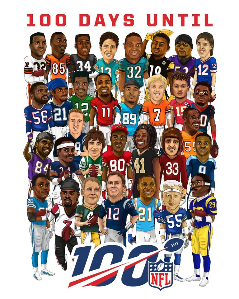 nfl 100 player