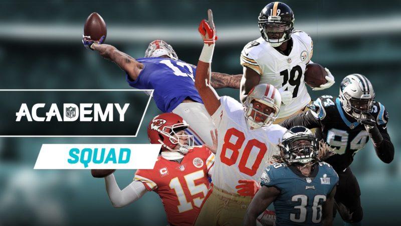 nfl academy squad