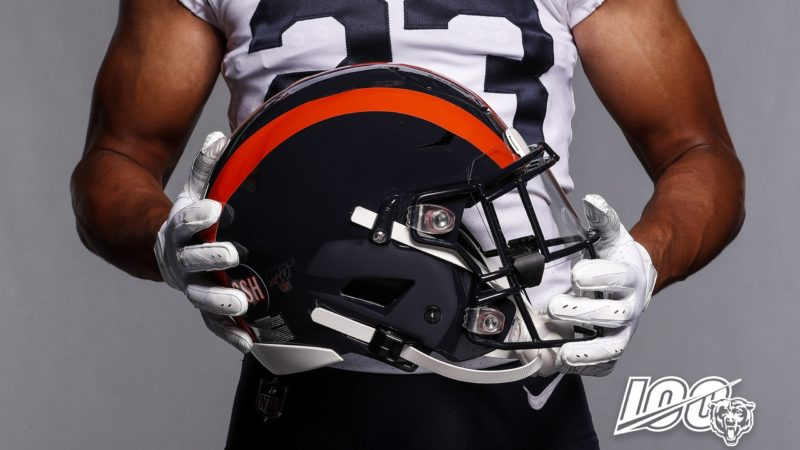 Chicago Bears white throwbacks