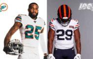 La maglia throwback per NFL 100 di Bears e Dolphins