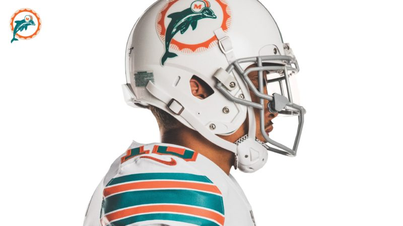 Miami Dolphins white throwbacks 05