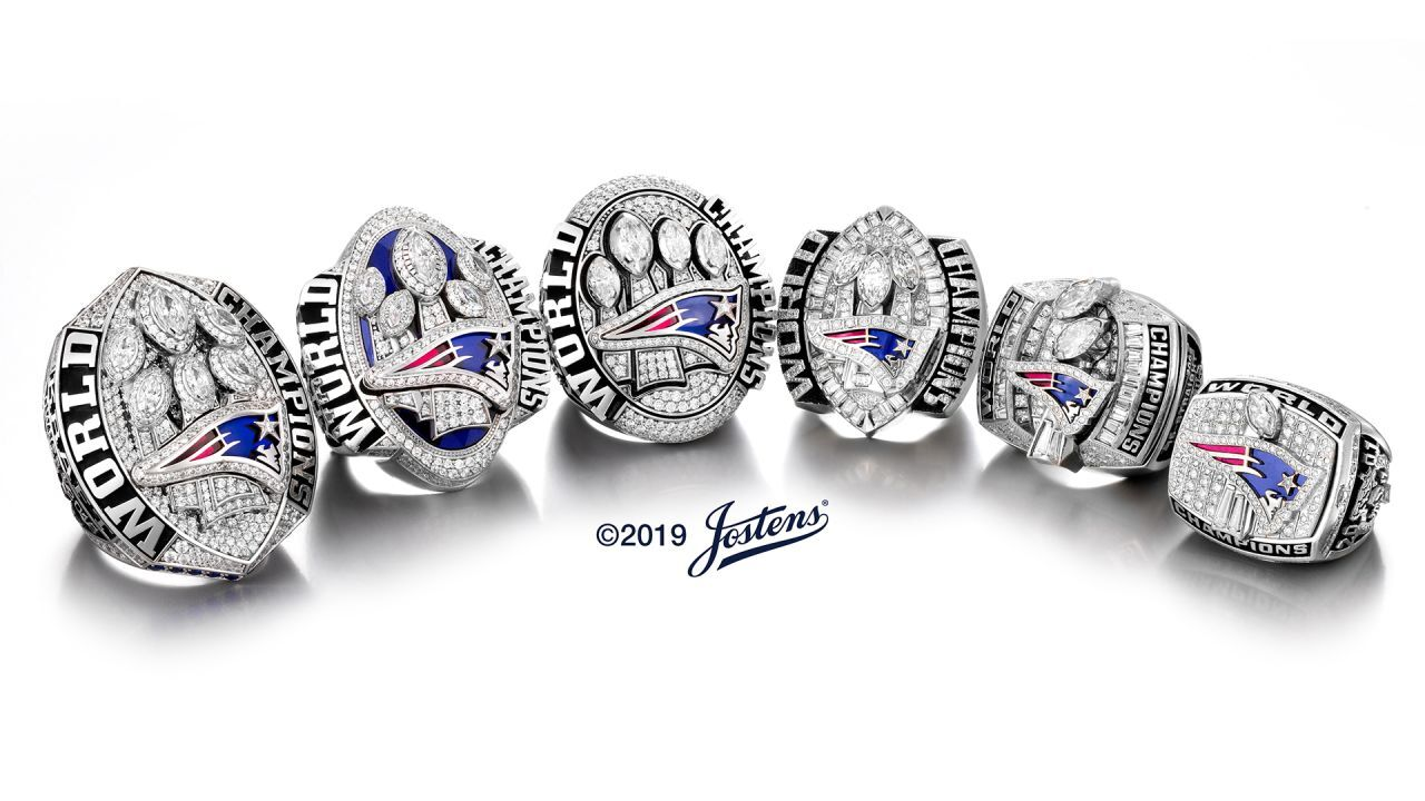 L'anello del Super Bowl dei New England Patriots