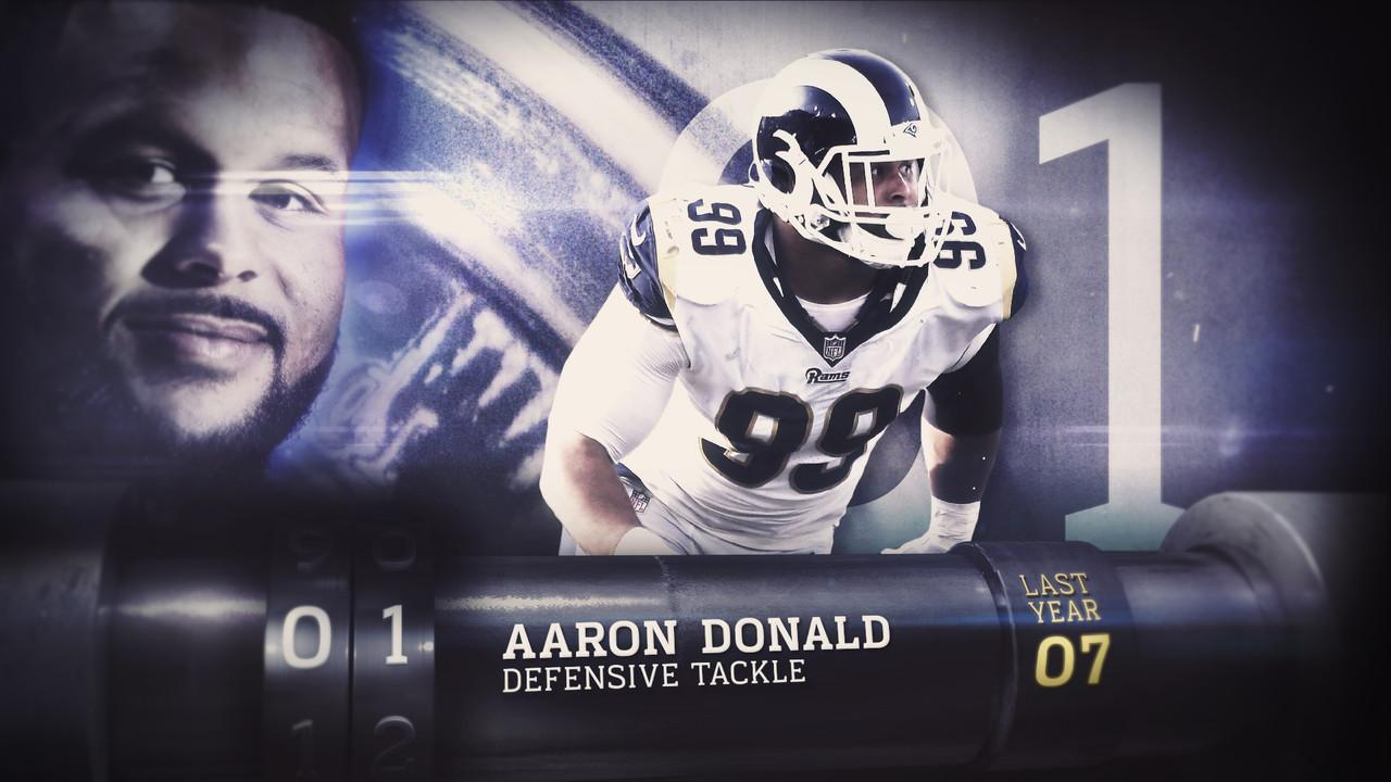 Aaron Donald in testa alla TOP 100 NFL