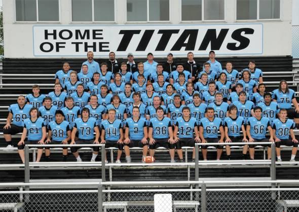 Varsity Football 2018 titans