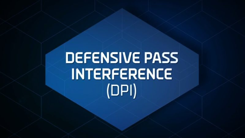 defensive pass interference