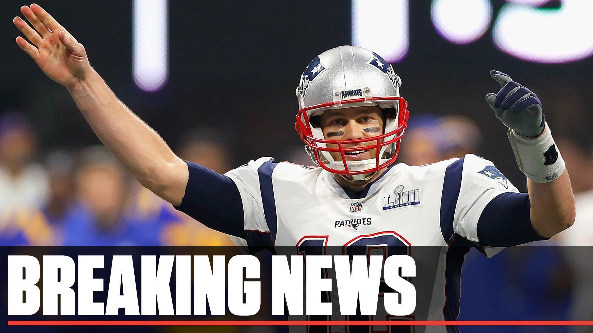 Tom Brady rinnova il contratto con i Patriots