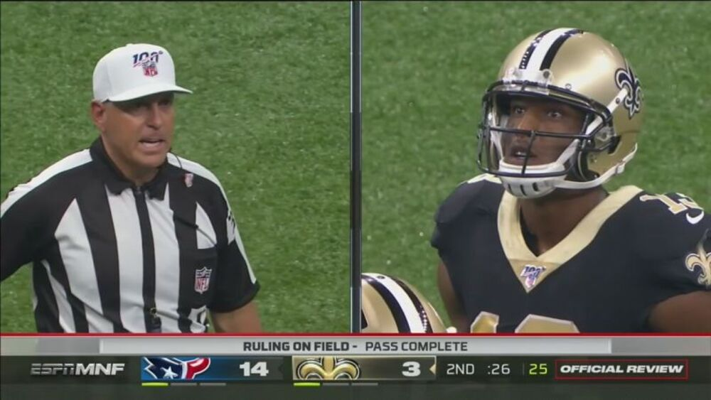 Il 10-second runoff che poteva costare caro ai Saints