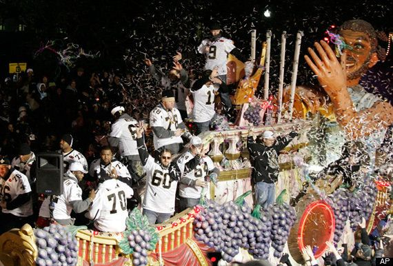 saints parade