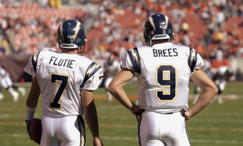 flutie brees quarterback