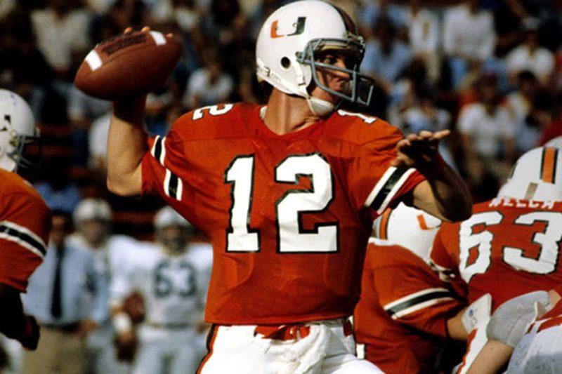 Jim Kelly Miami Hurricanes