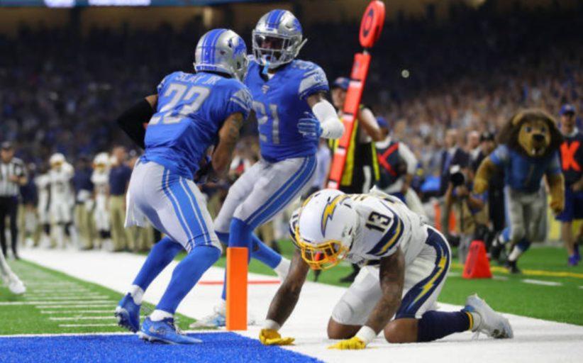 [NFL] Week 2: Intercetto finale (Los Angeles Chargers vs Detroit Lions 10-13)