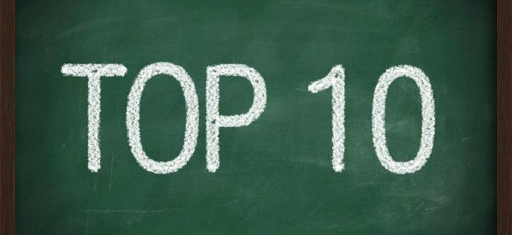 Top 10 ten week under 25