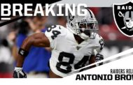 Antonio Brown passa dai Raiders ai Patriots