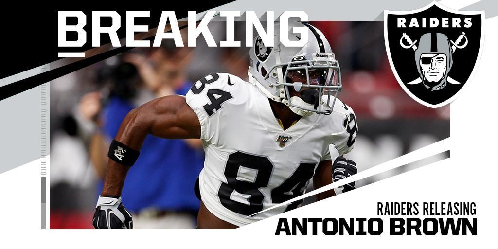 Antonio Brown passa dai Raiders ai Patriots