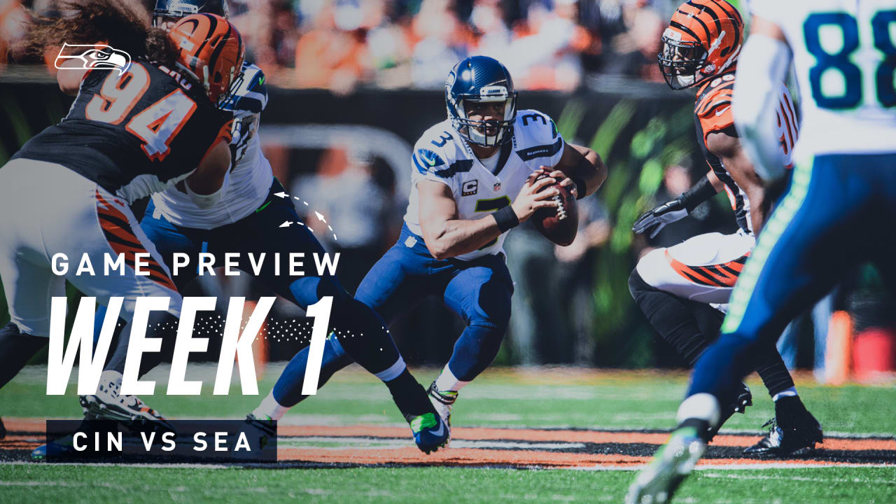 [NFL] Week 1: Preview Seattle Seahawks vs Cincinnati Bengals