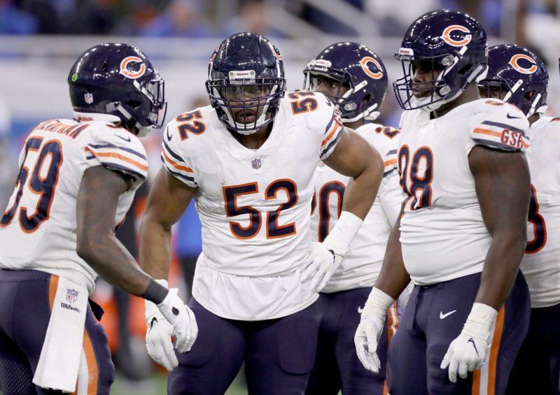 Chicago Bears difesa Detroit Lions