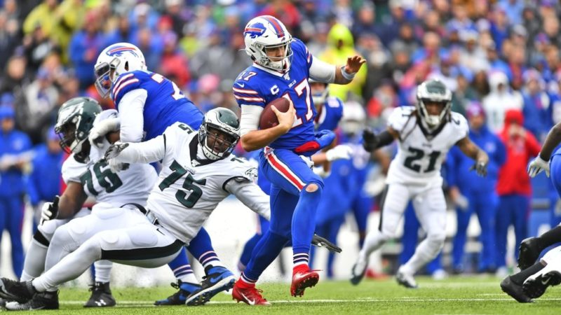 Josh Allen Bills Eagles