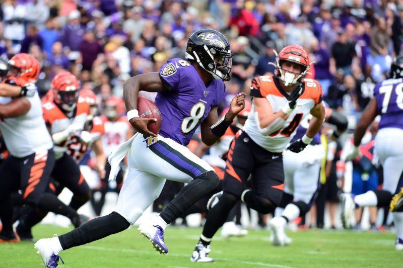 Lamar Jackson Ravens Bengals week 6