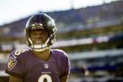 Lamar Jackson in testa alla TOP 100 NFL