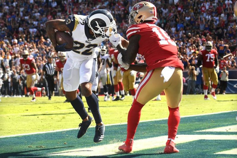 Marcus Peters Rams 49ers