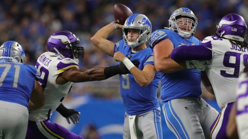 Stafford Lions Vikings Defense