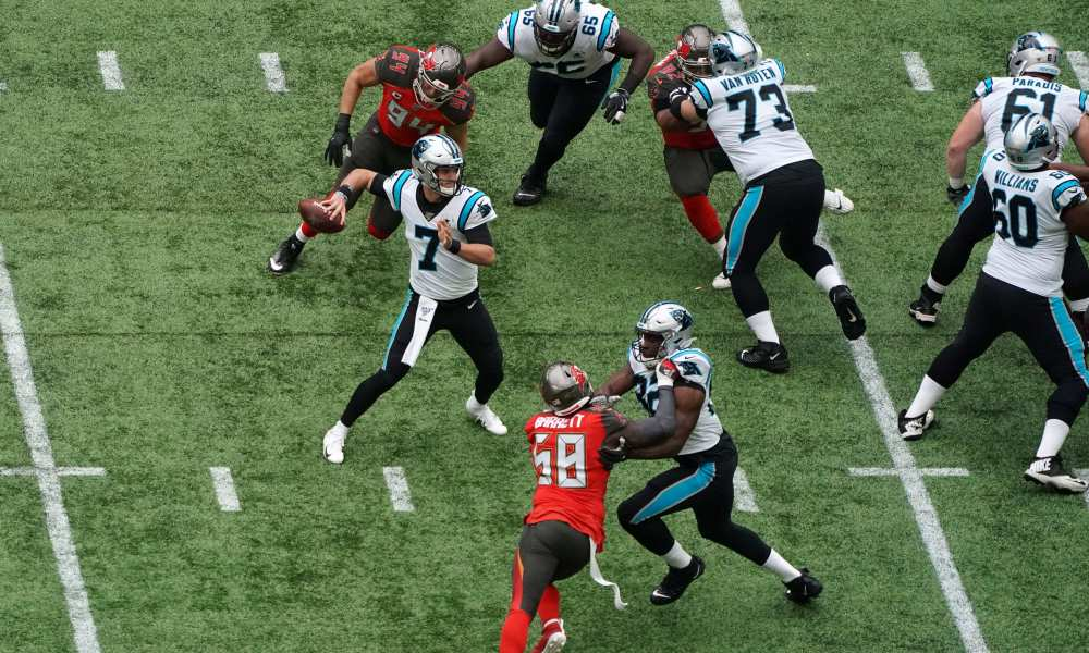 Quattro di fila (Carolina Panthers vs Tampa Bay Buccaneers 37-26)