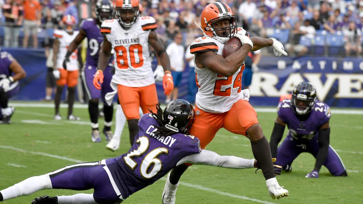 I Cleveland Browns dopo week 4