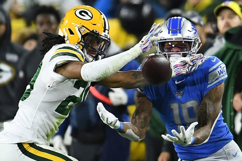 golladay lions packers