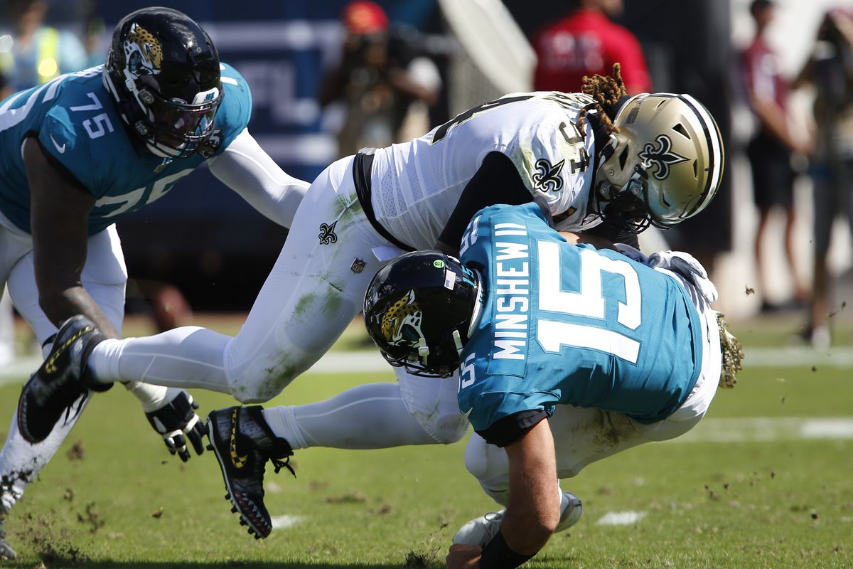 D-day! (New Orleans Saints vs Jacksonville Jaguars 13-6)