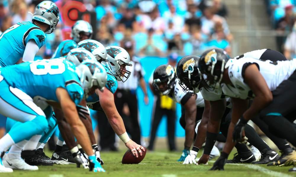 Run CMC run (Jacksonville Jaguars vs Carolina Panthers 27-34)