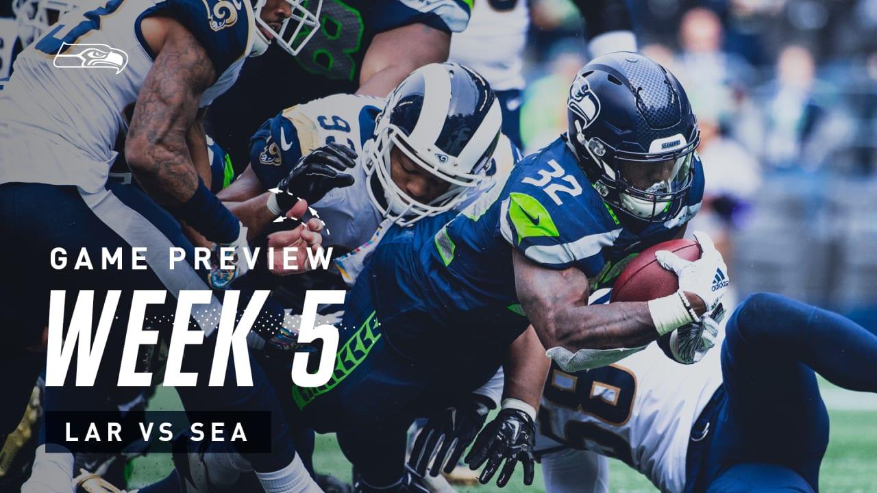 [NFL] Week 5: Preview Los Angeles Rams vs Seattle Seahawks