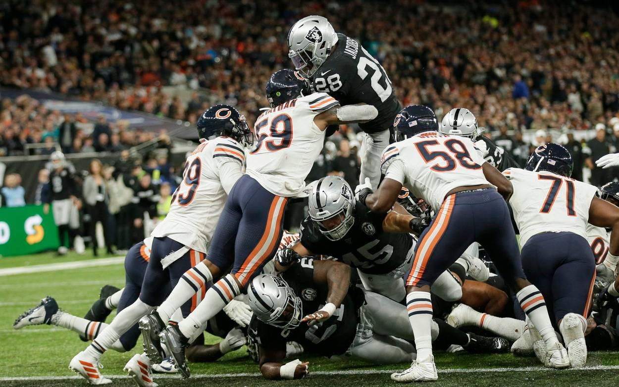 I Raiders si impongono a Londra (Chicago Bears vs Oakland Raiders 21-24)