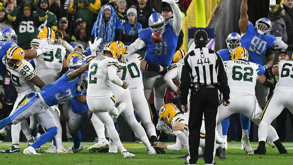 La dura legge del Lambeau (Detroit Lions vs Green Bay Packers 22-23)