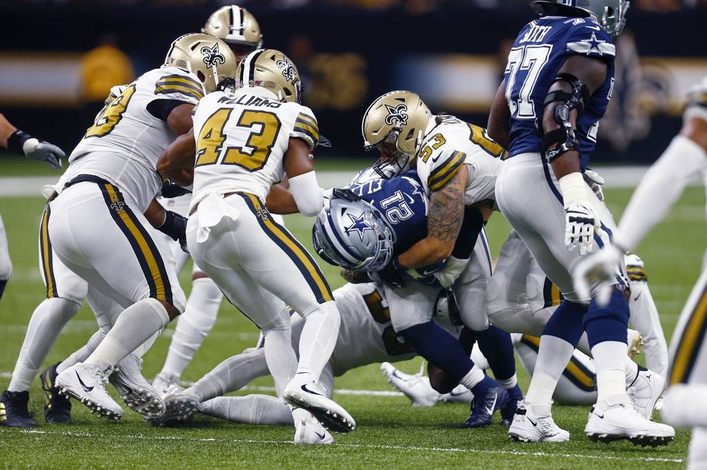[NFL] Week 4: Vittoria di difesa (Dallas Cowboys vs New Orleans Saints 10-12)