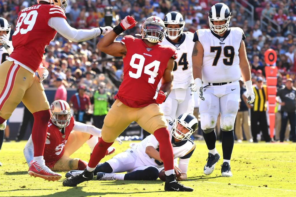 Cinque – Zero (San Francisco 49ers vs Los Angeles Rams 20-7)