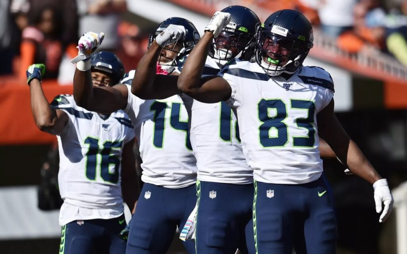 Wilson porta a spasso Mayfield (Seattle Seahawks vs Cleveland Browns 32-28)