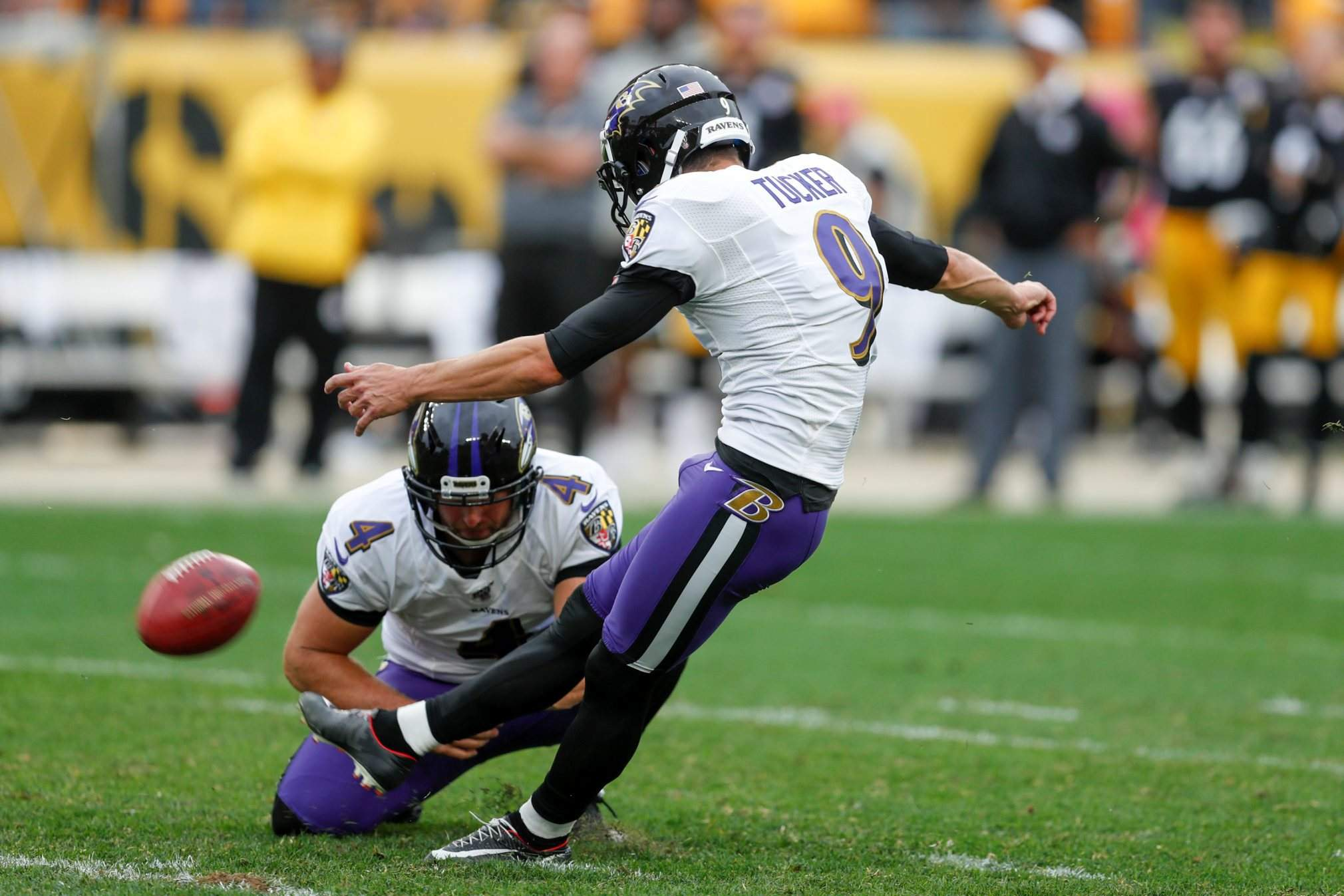 Sforzo di squadra (Baltimore Ravens vs Pittsburgh Steelers 26-23)