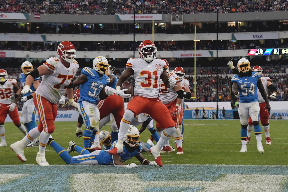 Thriller messicano (Kansas City Chiefs vs Los Angeles Chargers 24-17)