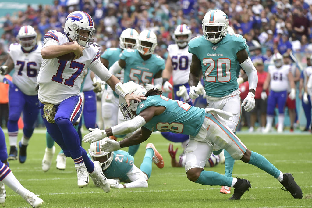 Tutto sotto controllo (Buffalo Bills vs Miami Dolphins 37-20)