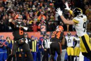Browns-Steelers: vecchia scuola, finale amaro (Pittsburgh Steelers vs Cleveland Browns 7-21)
